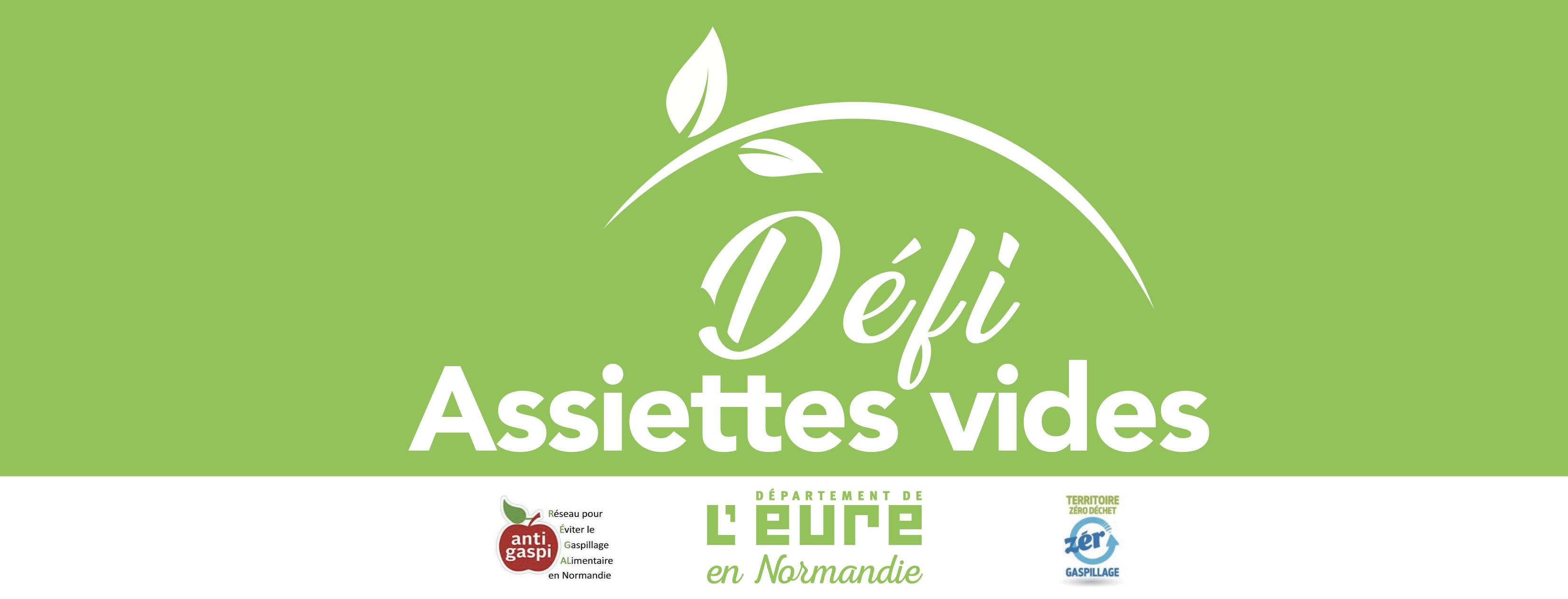 Du 20 au 24 mai, les collégiens de l'Eure sont invités à relever le défi des « assiettes vides » pour lutter efficacement contre le gaspillage alimentaire.