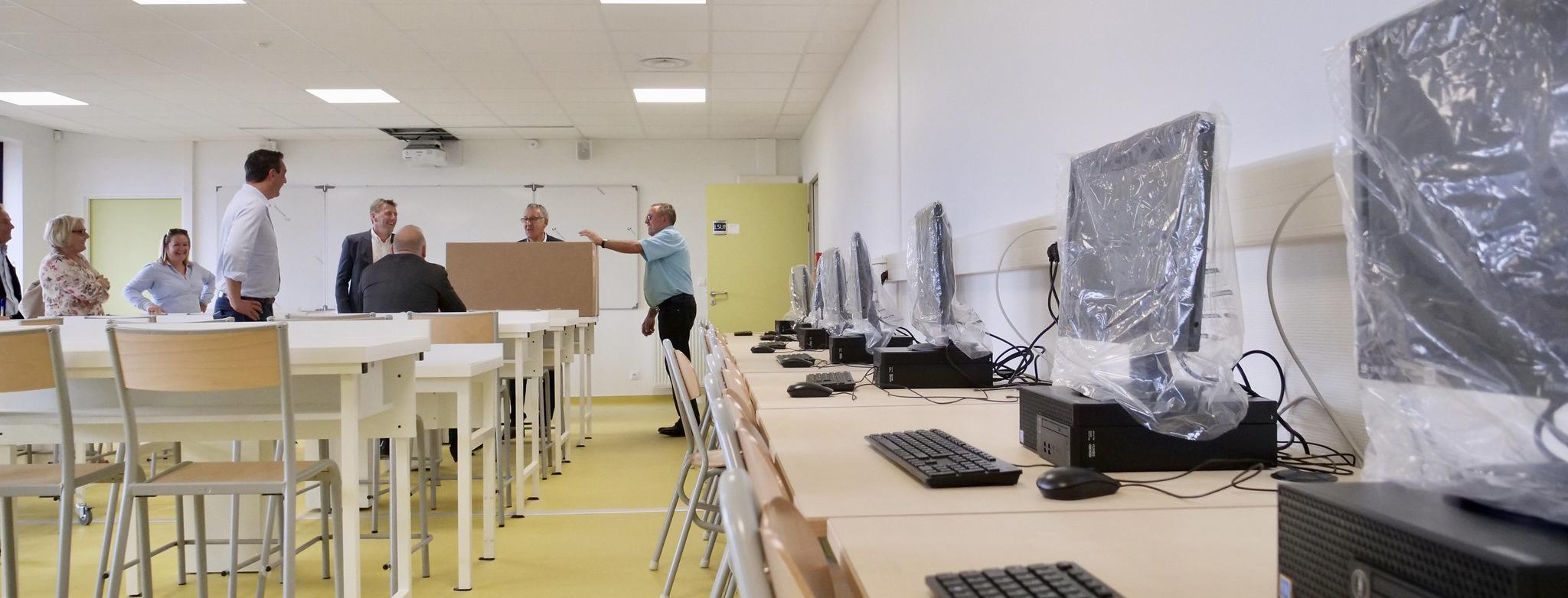 Deuxième collège du Neubourg : fin prêt à la rentrée