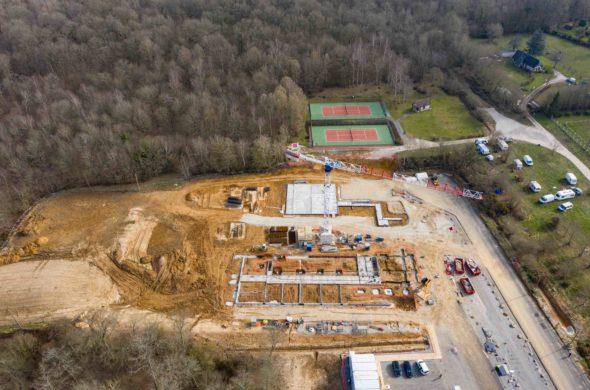 Broglie : un nouveau collège en construction