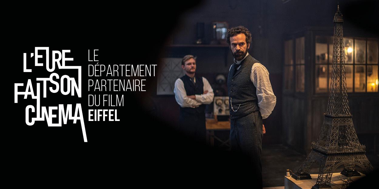 L'Eure fait son cinéma, le Département partenaire du film Eiffel